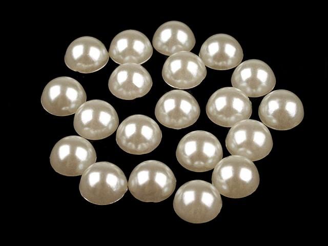 Půlperle / perly k nalepení Ø9 mm