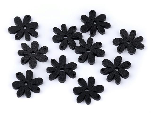 Flori din lemn, 20x25 mm