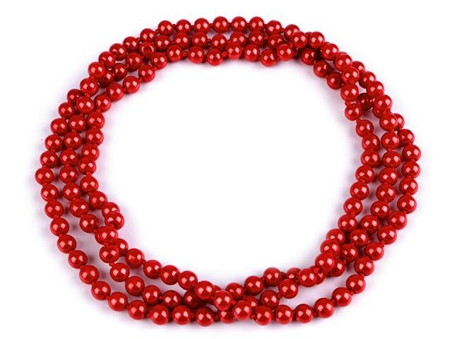 Perlový náhrdelník v štýle 30. rokov