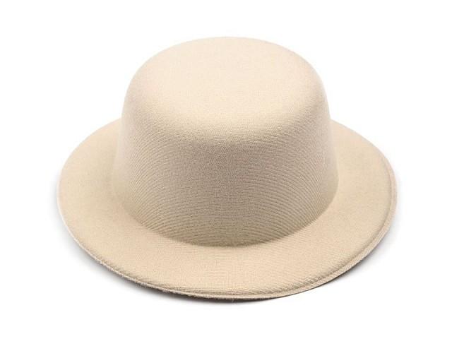Mini klobúčik / fascinátor na dozdobenie Ø13,5 cm