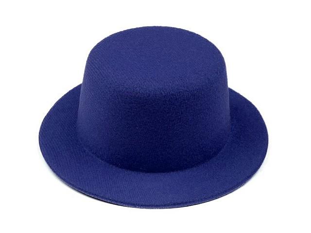 Mini klobouček /  fascinátor k dozdobení Ø13,5 cm