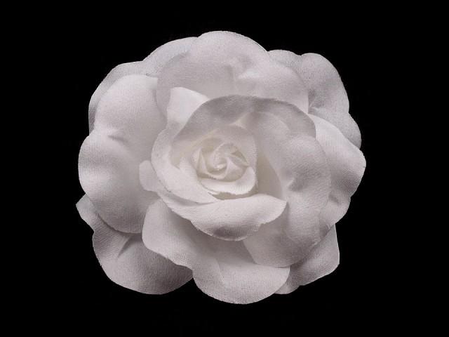 Brošňa / ozdoba ruža Ø6 cm