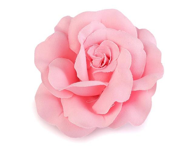 Brož / ozdoba růže Ø6 cm