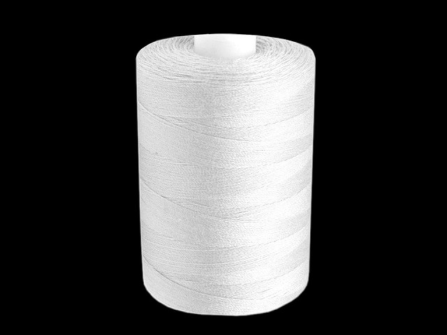 Polyester Sewing Thread for Overlocks PES 40/2 James; 1000m per spool
