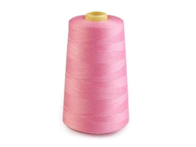 Polyesterové nitě pro overlocky i klasické šití návin 5000 yards PES 40/2