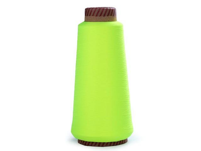 Nit elastická pro overlocky 5000 m neon