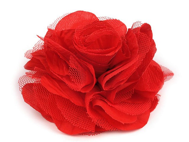 Broszka / spinka Ø9cm róża