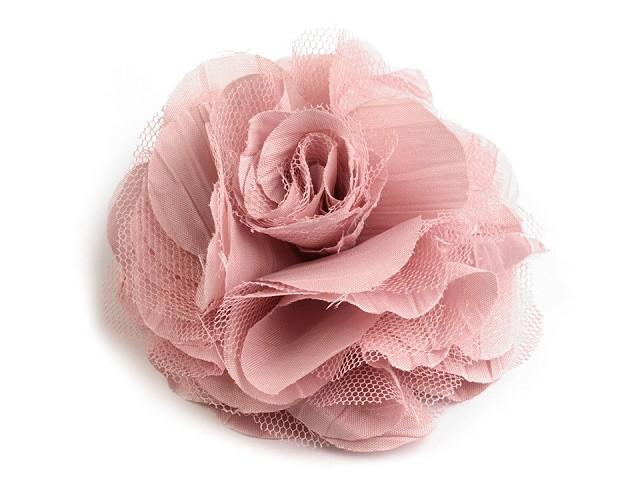 Bross / rózsadísz Ø9 cm