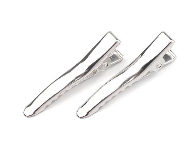Clipsuri pentru păr metalice, lungime 35 mm