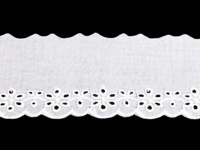 Wäschespitze aus Baumwolle Breite 50 mm