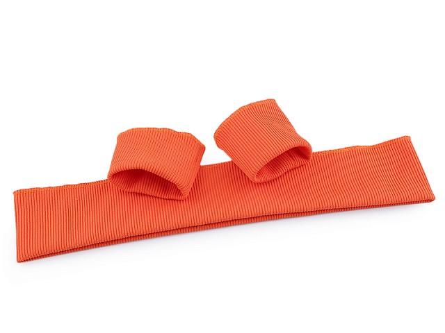 Ściągacz odzieżowy elastyczny szerokość 7 cm komplet (2x rękaw, 1x pas)