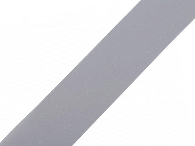 Bandă reflectorizantă de cusut, lățime 30 mm