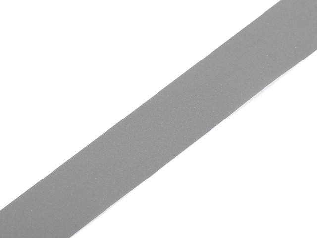Reflexní páska šíře 20 mm našívací