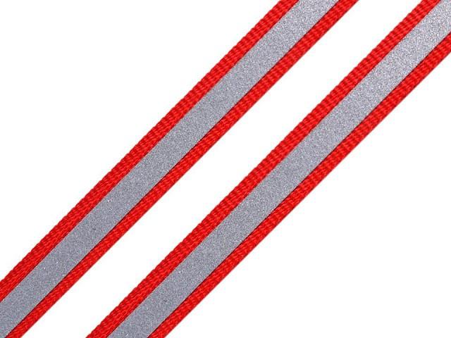 Páska reflexná šírka 10mm na tkanine
