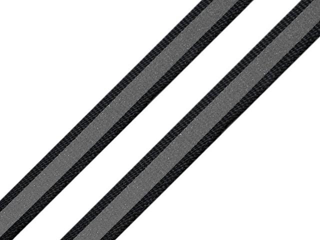 Bandă reflectorizantă textilă, lățime 10 mm