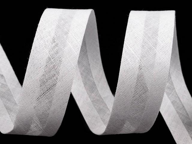Pamut ferdepánt szélessége 20 mm bevasalt
