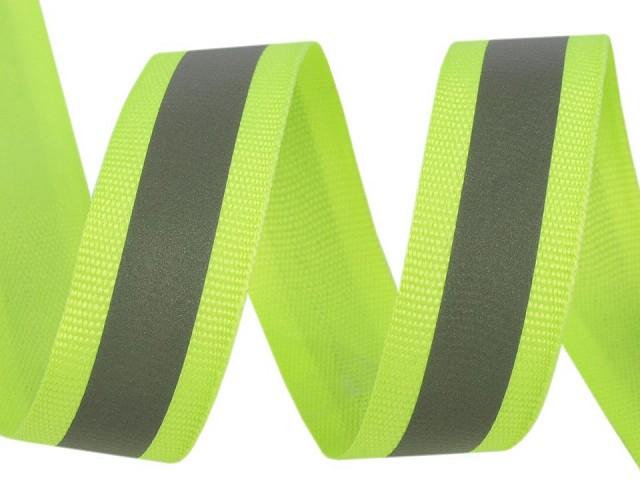 Reflexná páska šírka 20 mm na tkanině