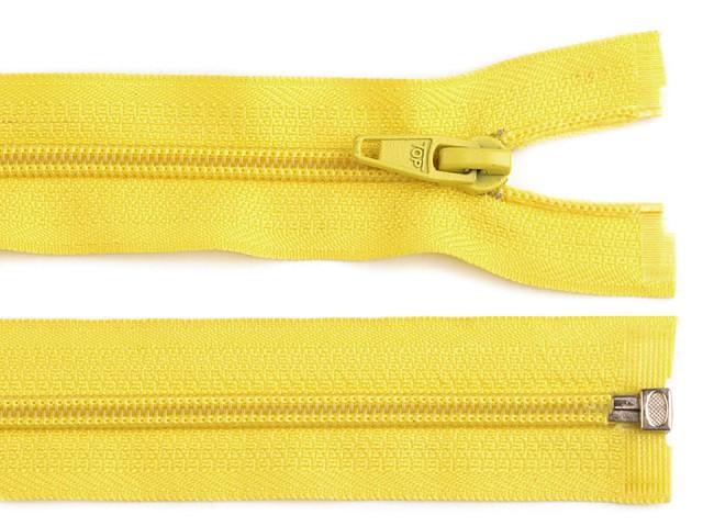Reißverschluss spiralförmig 5 mm, 40 cm für Jacken POL