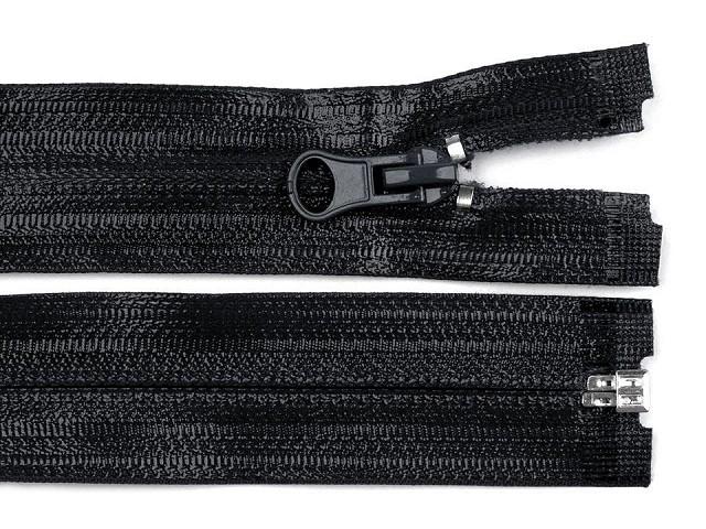 Vodeodolný zips šírka 7 mm dĺžka 75 cm špirálový