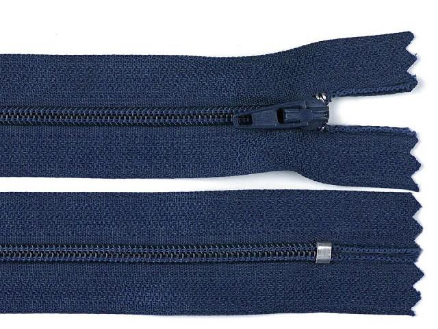 Špirálový zips šírka 3 mm dĺžka 20 cm autolock