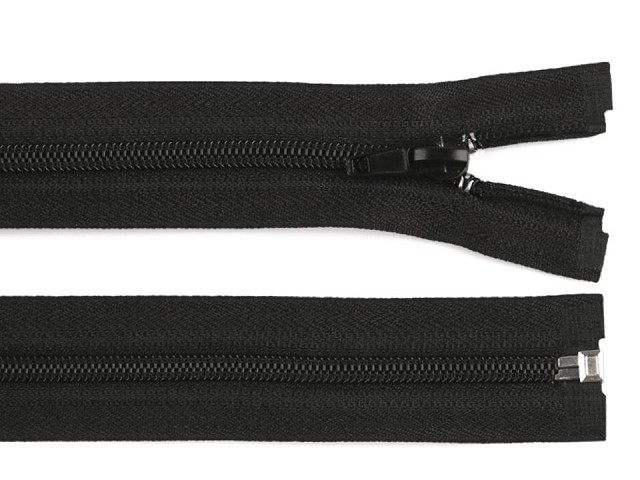 Spirálový zip šíře 5 mm délka 125 cm, 150 cm