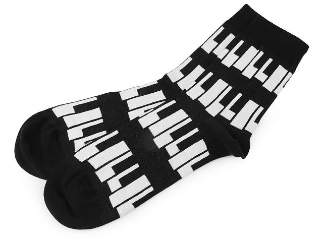 Bavlnené ponožky farebné Wola
