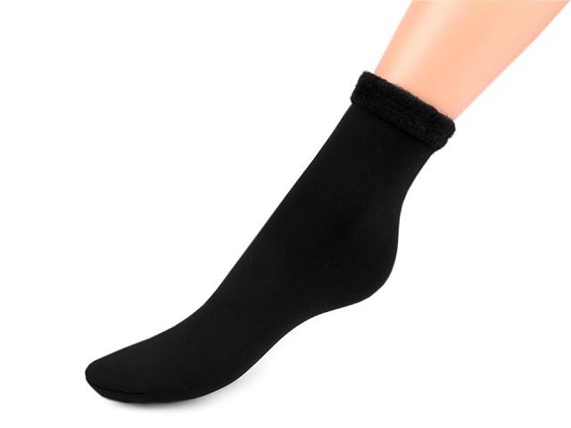 Ponožky teplé fleece