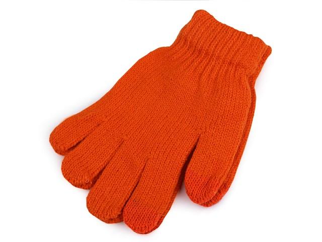 Detské pletené rukavice