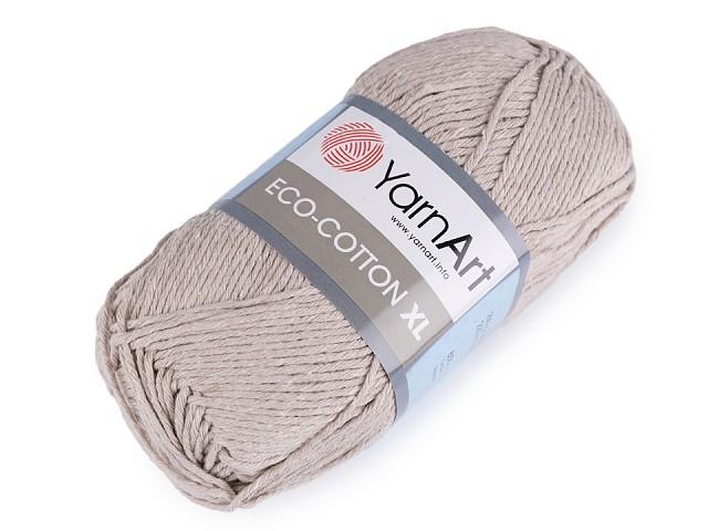 Pletacia priadza Eco - cotton XL 200 g