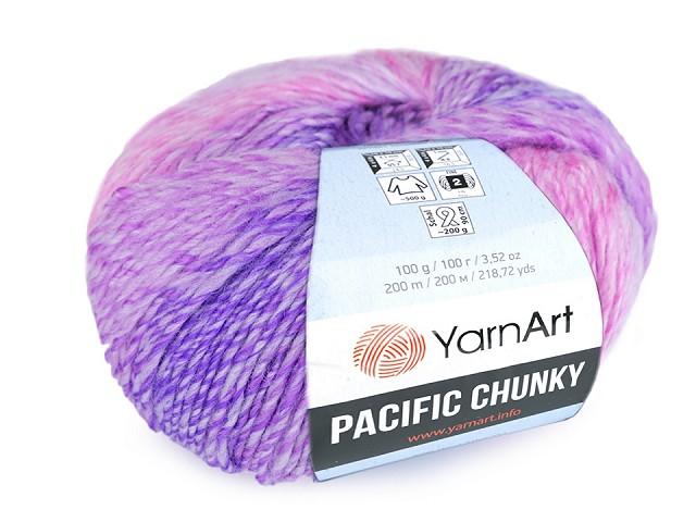 Pletací příze Pacific Chunky 100 g