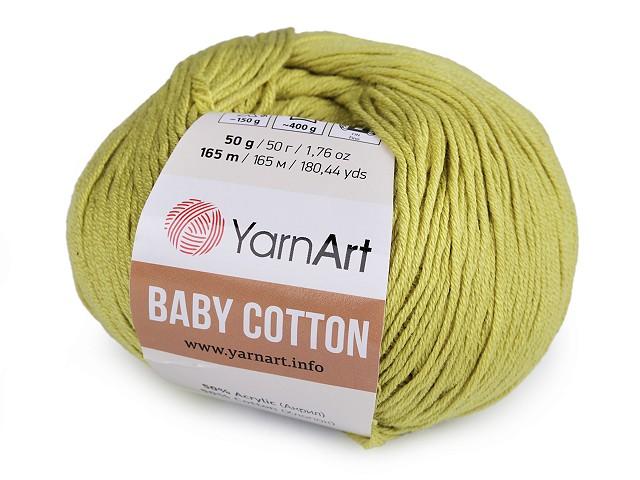 Pletací příze Baby Cotton 50 g