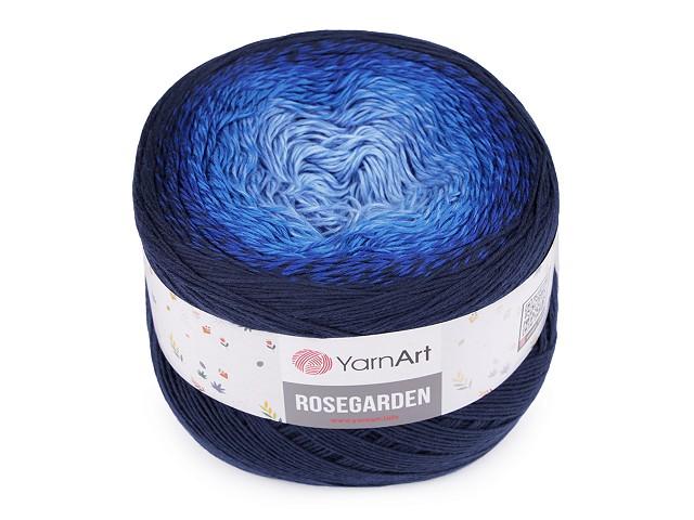 Bavlněná pletací příze Rosegarden 250 g