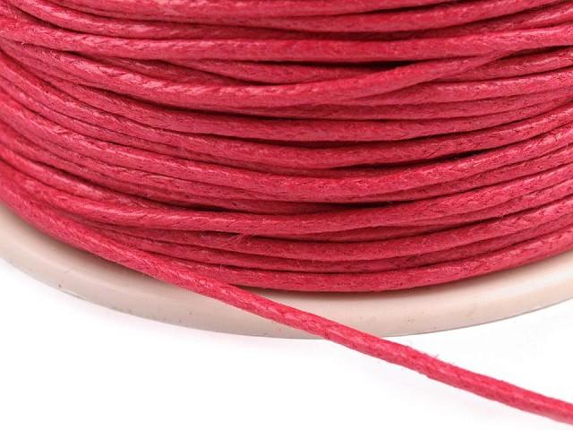 Cotton Waxed Cord Ø 1mm