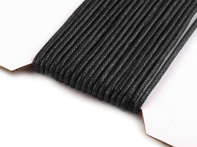 Sznurek bawełniany Ø2 mm woskowany