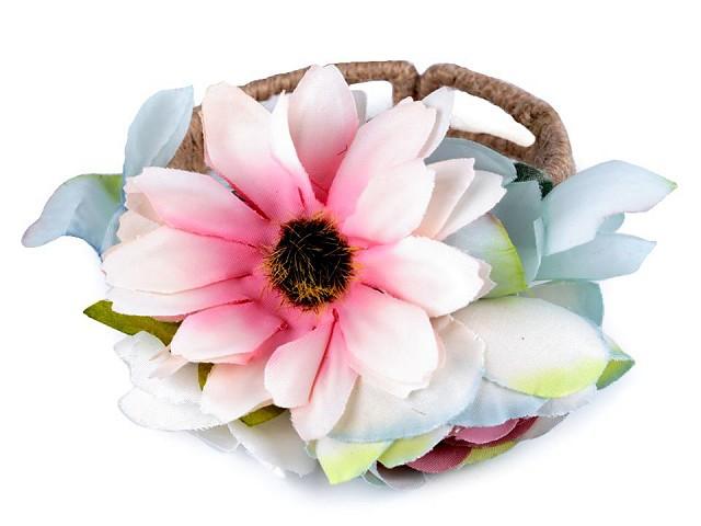Náramek s květy