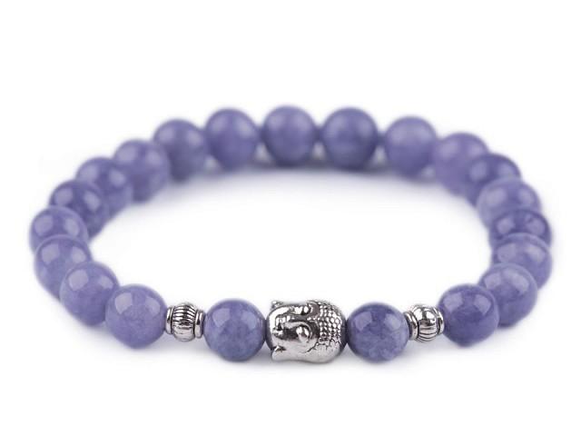 Buddha náramok avanturín modrý, dámsky