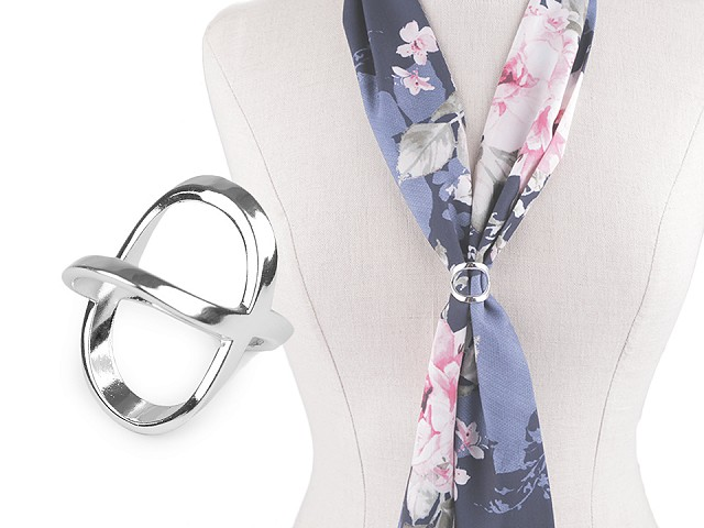 Spona / průvlek na šátek