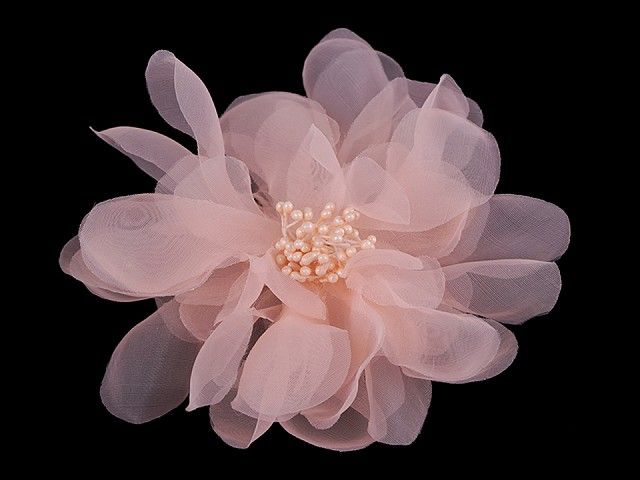 Brošňa / ozdoba kvet Ø15 cm monofilový