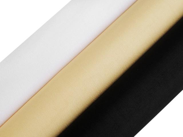 Dekoračný taft jednostranný / stuha šírka 15 cm