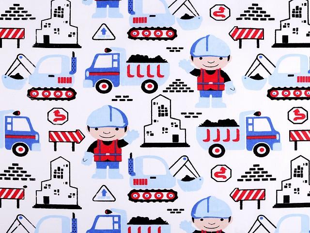 Bavlnená látka nákladné auto