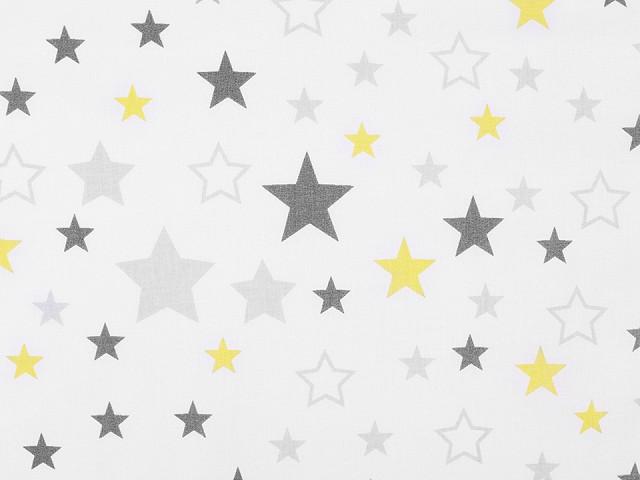 Bavlnená látka hviezdy