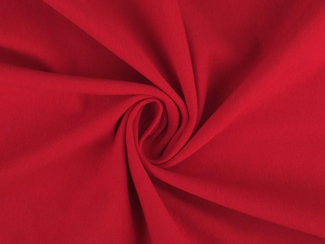Jerseystoff Baumwolle einfarbig