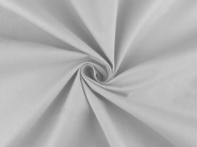 Bavlnená látka jednofarebná sada s niťou
