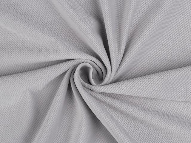 Velvet / zamat štruktúrovaný jednofarebný