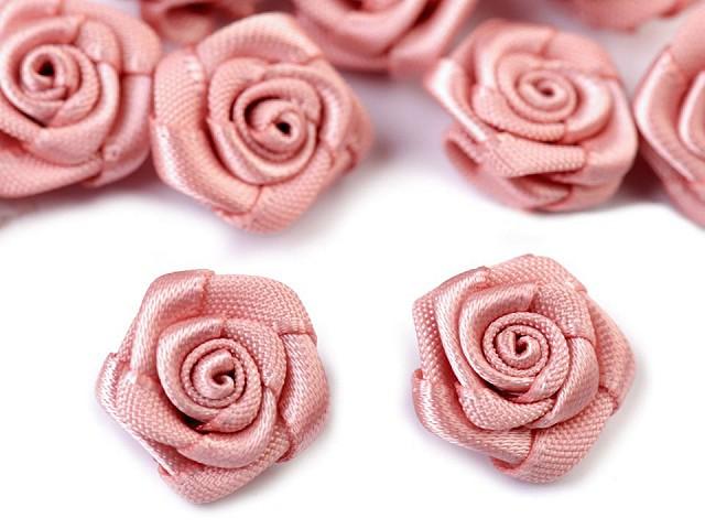 Szatén rózsa Ø15 mm