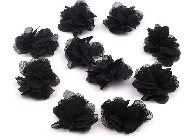 Kvetina Ø40mm k prišitiu alebo k prilepeniu 390386