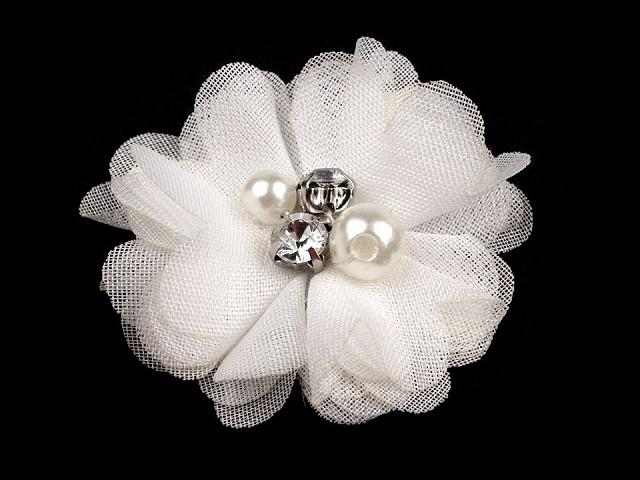 Kwiat Ø50 mm z kamyczkami