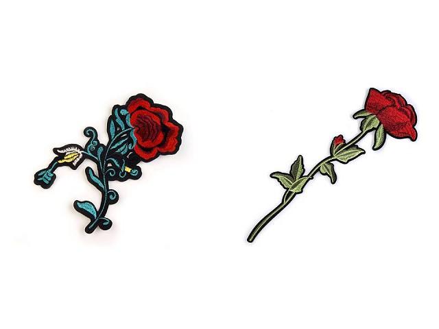 Nažehlovačka kvety / ruže
