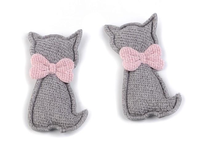 Textilná aplikácia / nášivka mačka