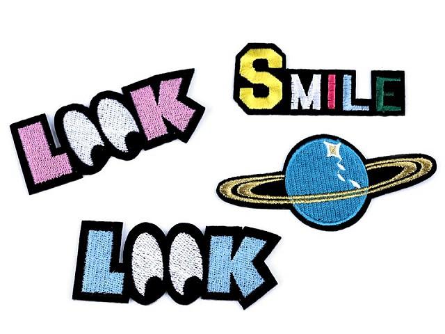 Nažehlovačka  Look,  Planeta, Smile